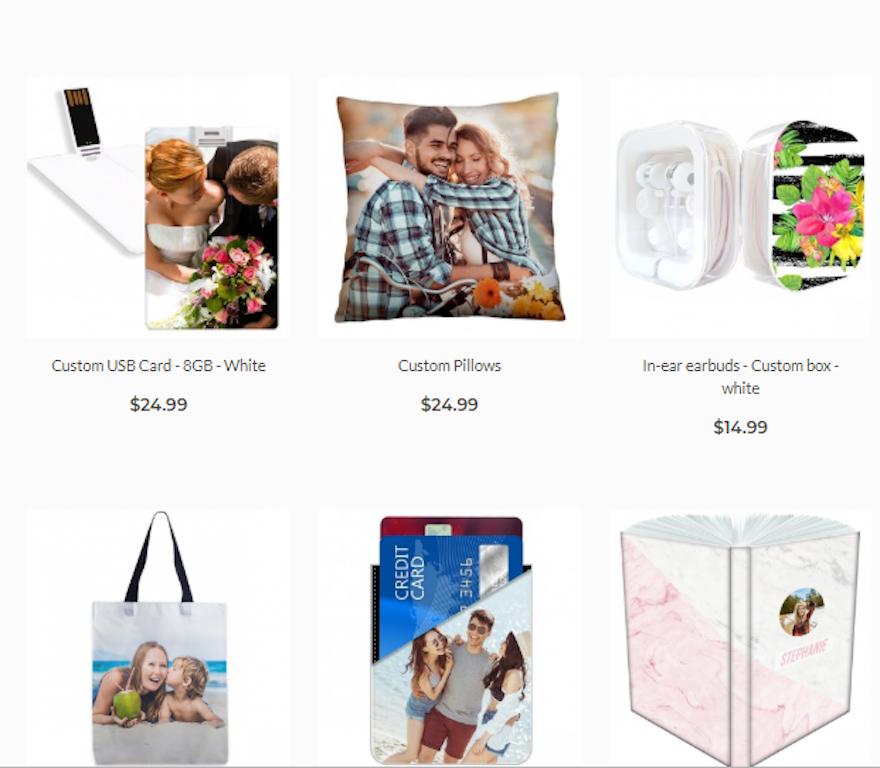 Customized pillows