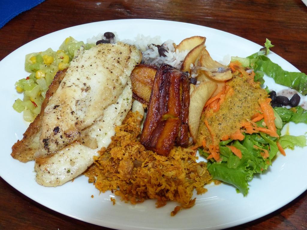 Costa Rican dish